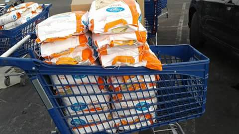 Anouar Association on Preparation of Ramadan Food Assistance for underprivileged and less fortun