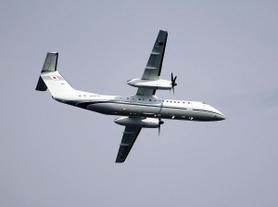 神戸沖で繰り返し旋回する謎の飛行機