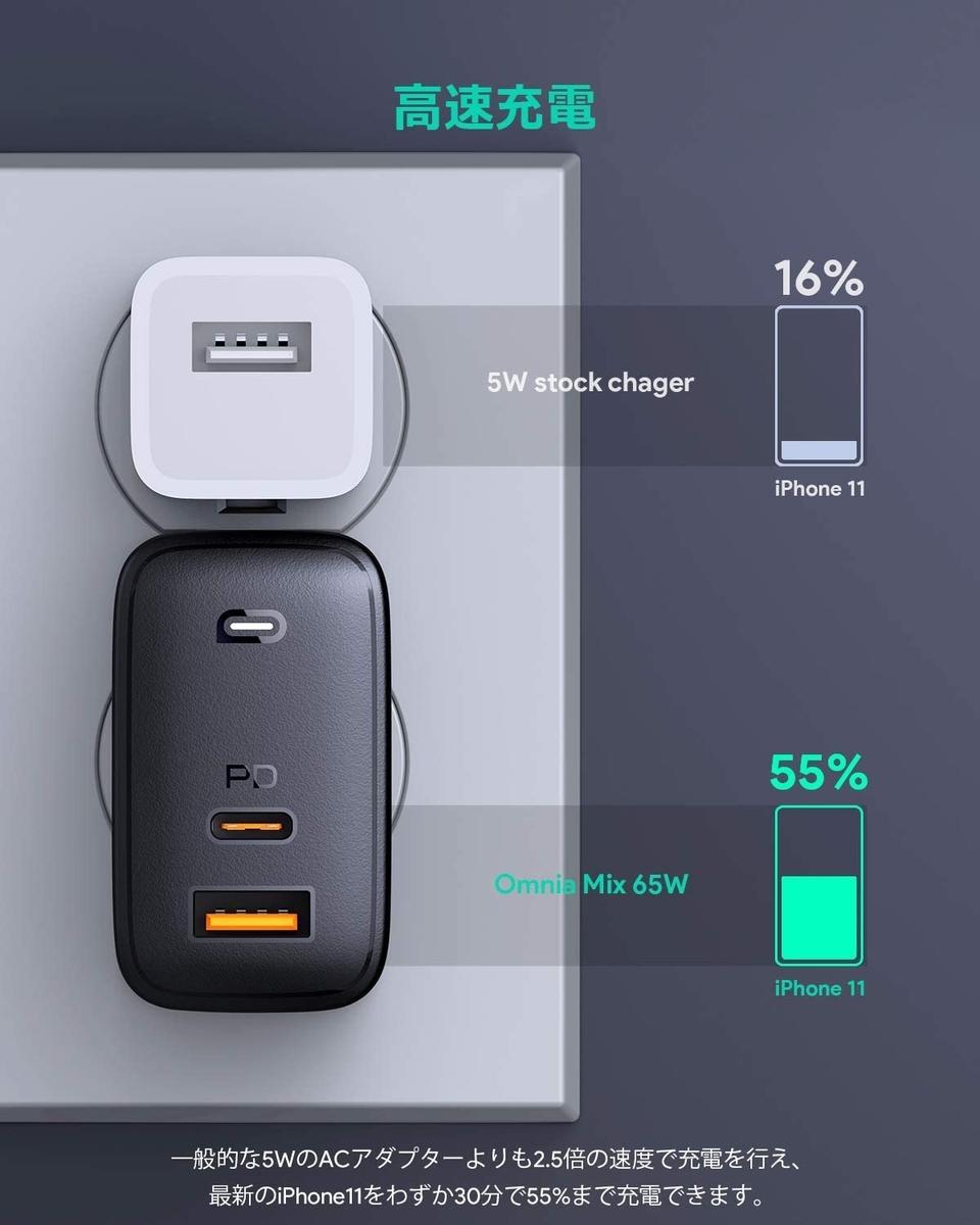 USB電源アダプタ1