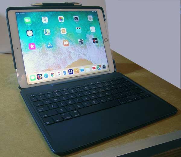 iPad Pro10.5とロジクール Slim Combo