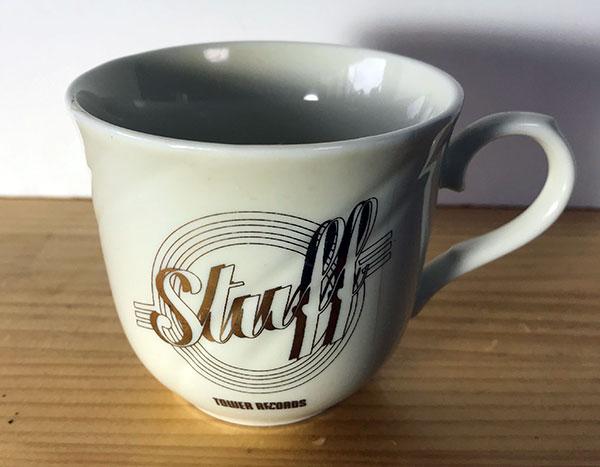 タワーレコードで頂いたStuffのコーヒーカップ
