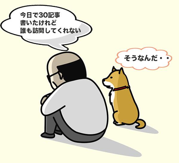 親父とワンコの会話
