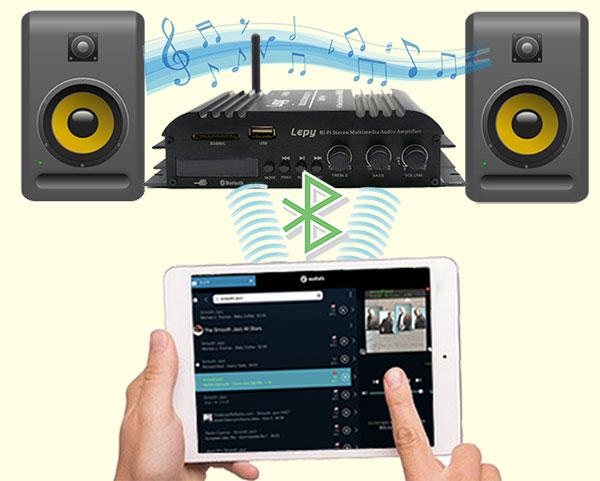 Bluetoothオーディオの仕組み