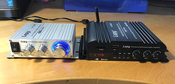Lepy LPX3sとLepy269sを並べたイメージ