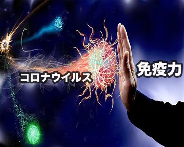 コロナウイルスの感染を防ぐ免疫の力
