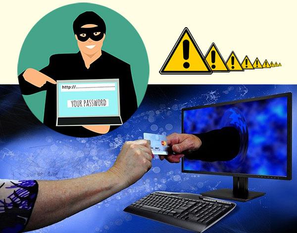 ネットでパスワードを要求するスパマーとキャッシュカード