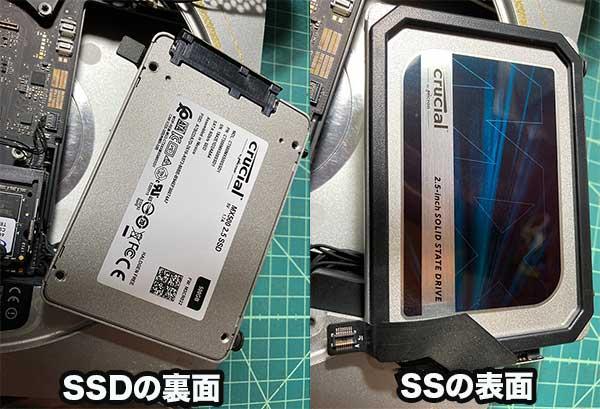 MACmini内蔵のSSD