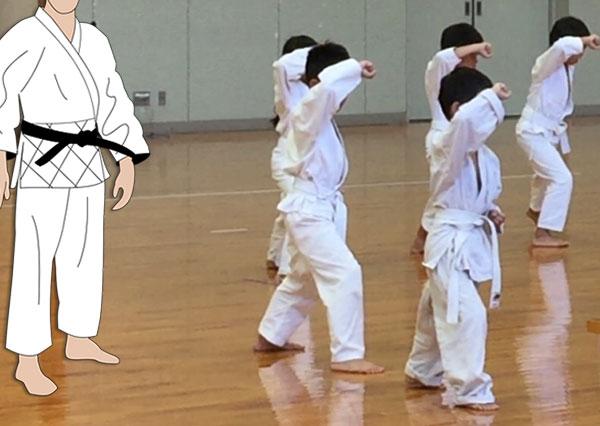 柔道の形を指導