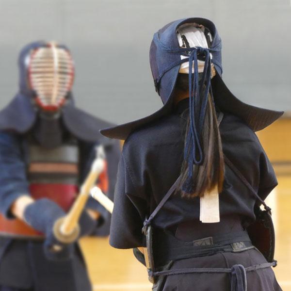 剣道の試合の構え