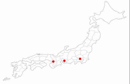 アイデムスマートエージェントの登録拠点は東京、名古屋、大阪