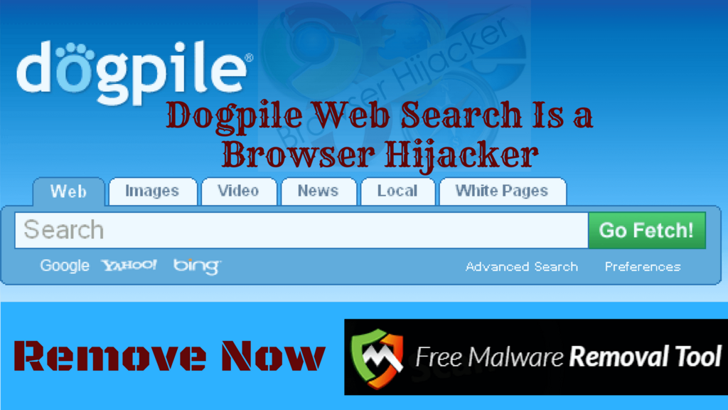 Remove DogPile Web Search Virus