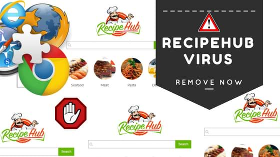 Remove RecipeHub Virus