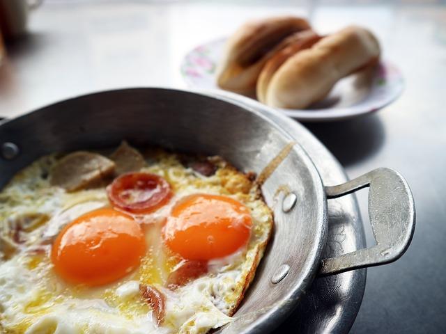 卵料理、目玉焼き