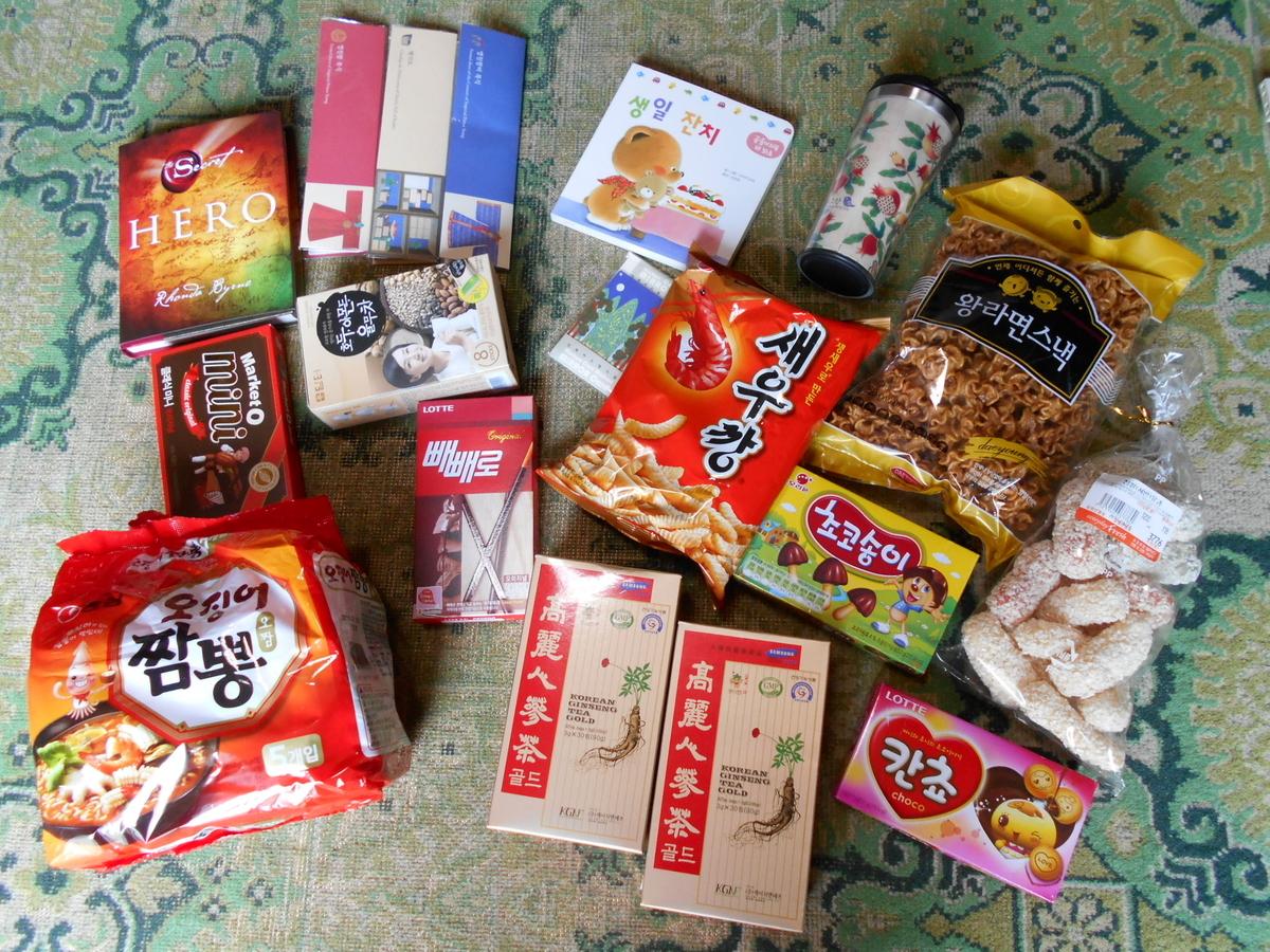 韓国旅行 お土産