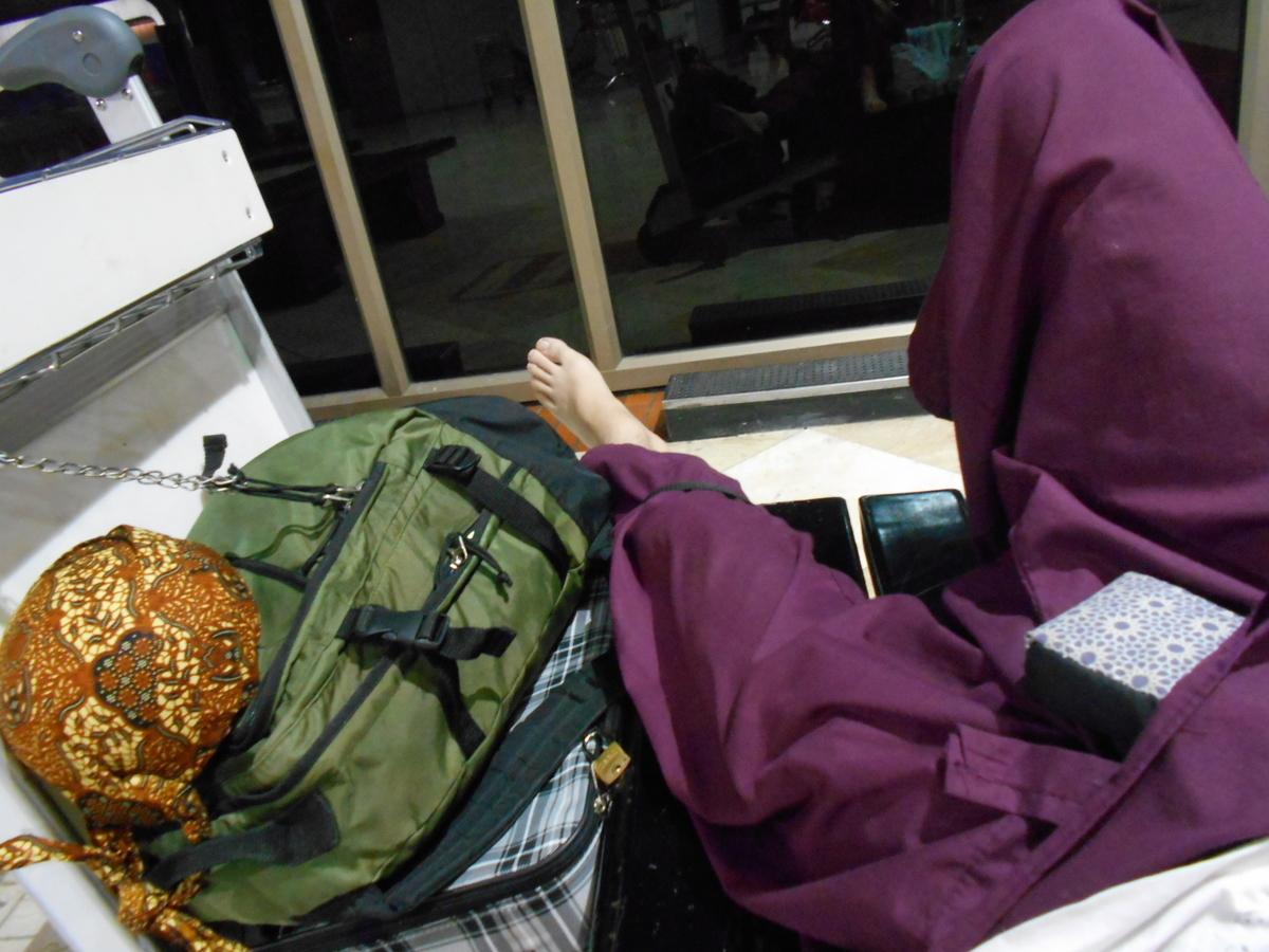 空港泊 盗難対策