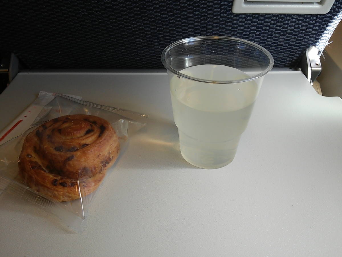 ANA 機内食 軽食