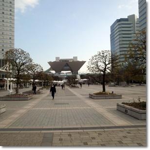 東京ビックサイト外観写真