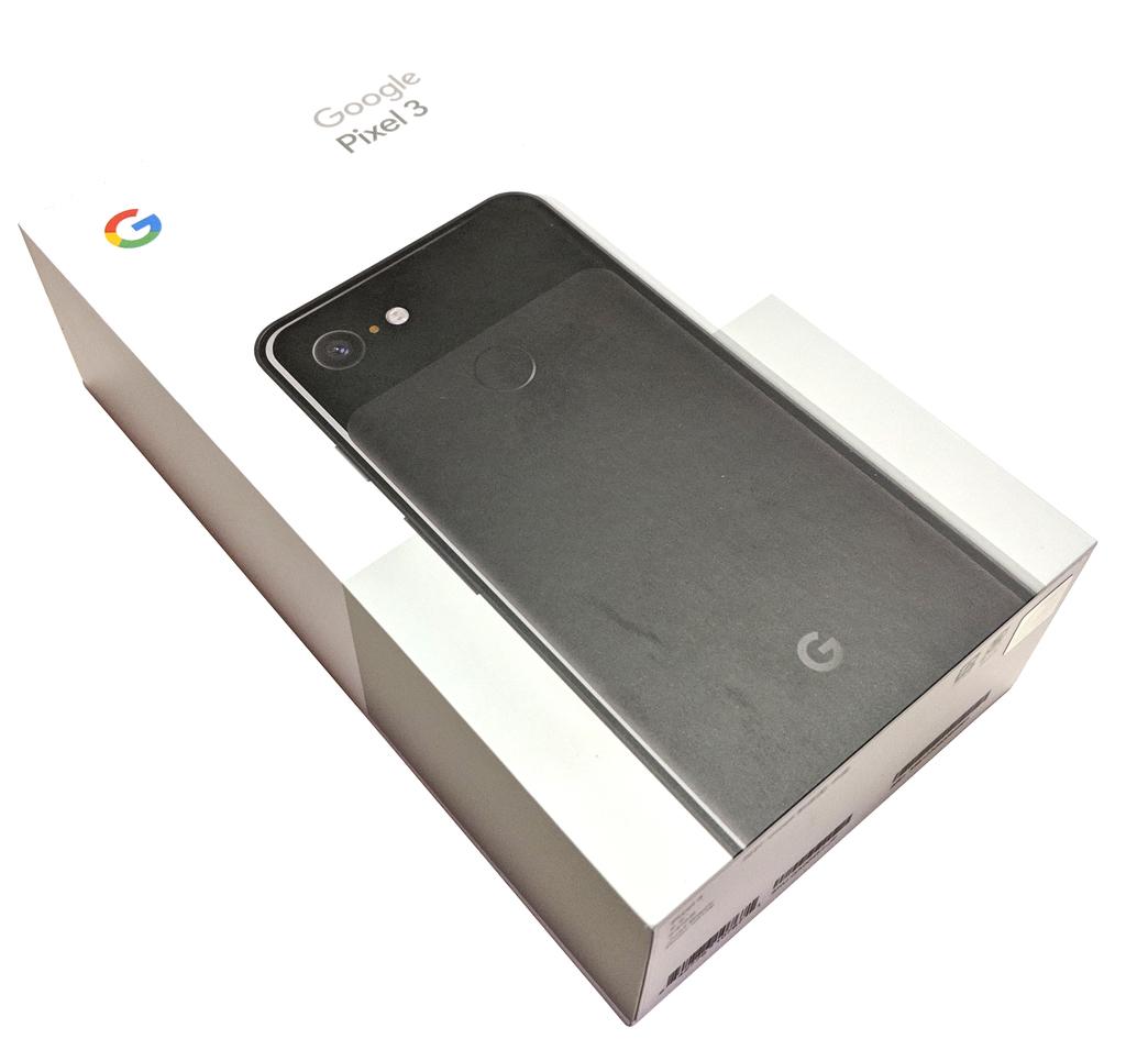 Pixel3、Googleストア、到着イメージ