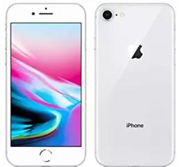 iPhone8、シルバー