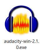 Audacity、exe