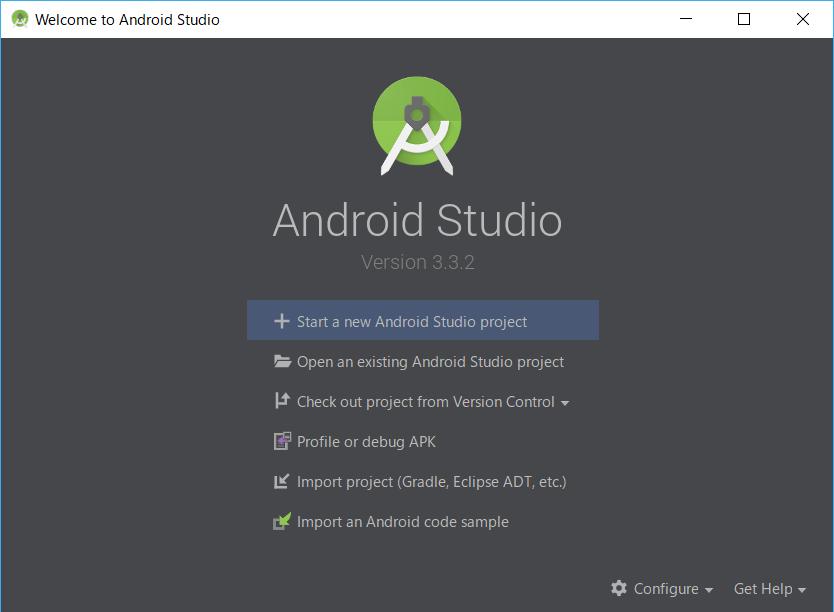 AndroidStudio、APIインストール後