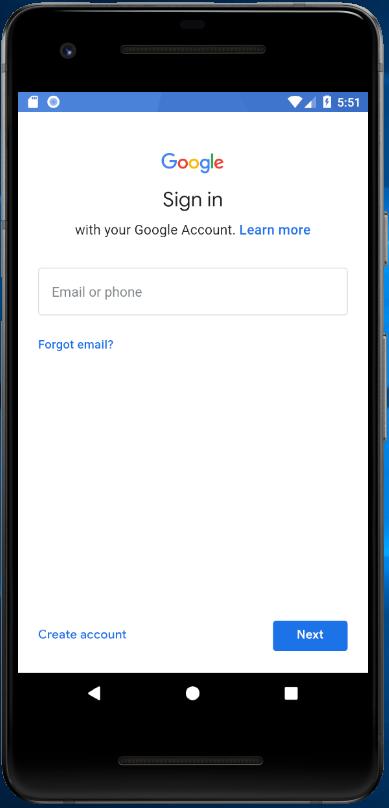 AndroidStudio、AVD、GooglePlay、login