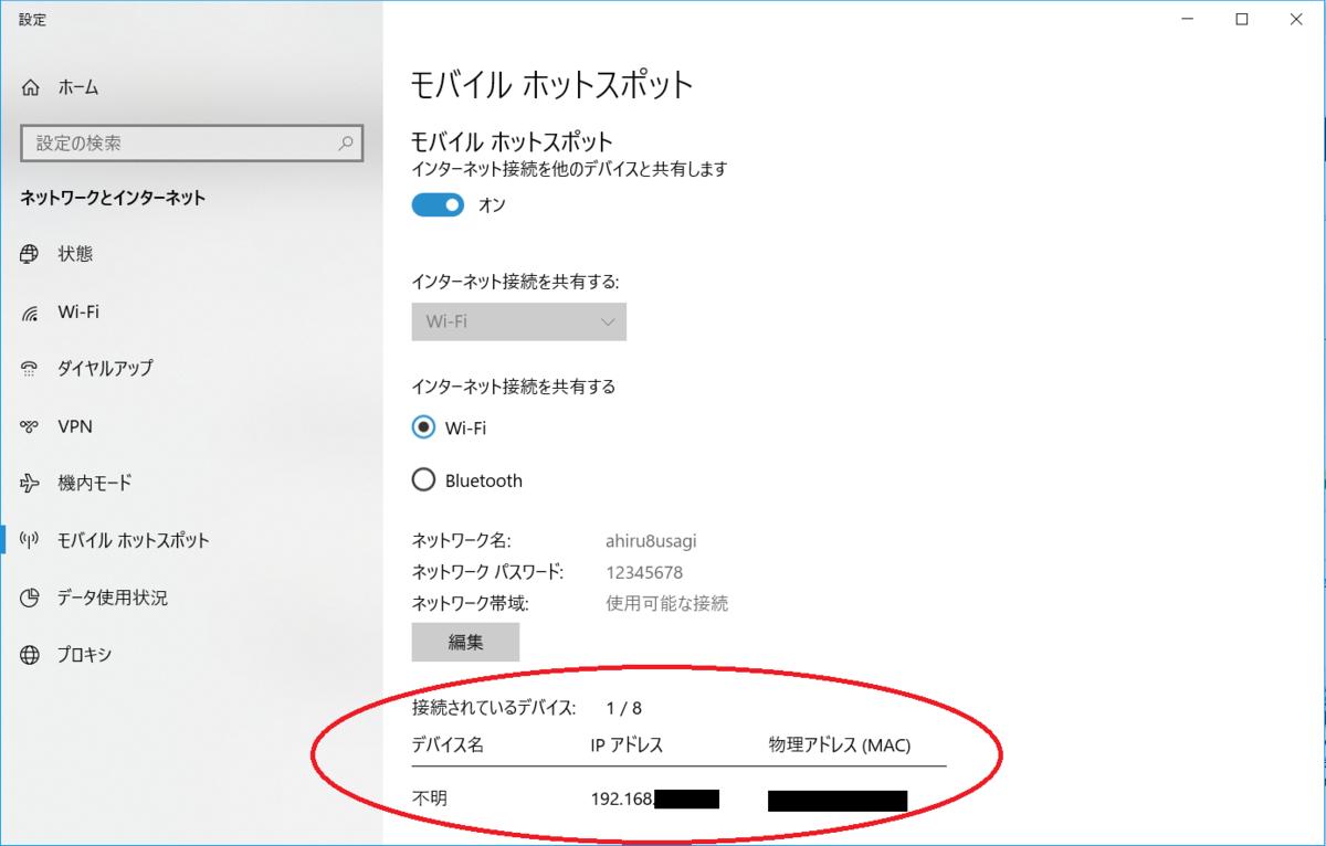 Androidスマホ、Wi-Fi接続、MACアドレス