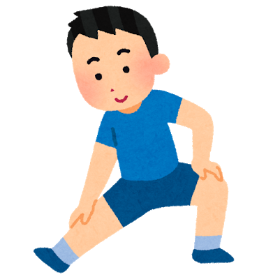 準備運動、健康のイメージ