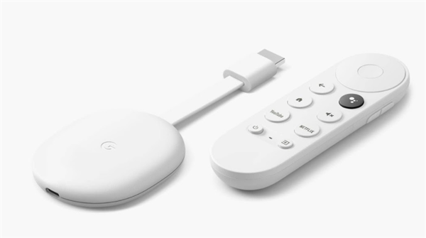 Chromecast with Google TV、2020年発表