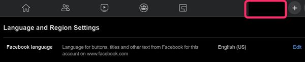 Facebook、プロフィール