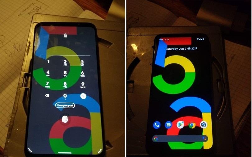 Pixel 5a、リーク画像