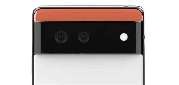 Pixel6、デュアルカメラ
