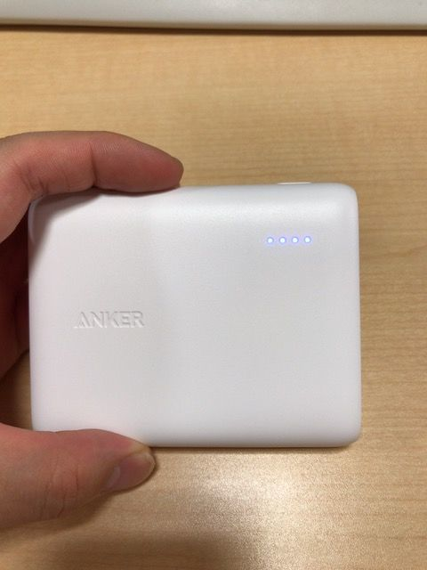 Anker PowerCore13000 正面