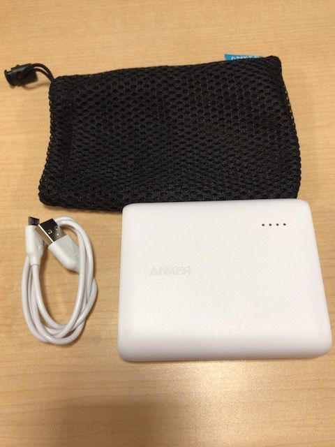 Anker PowerCore13000の梱包品