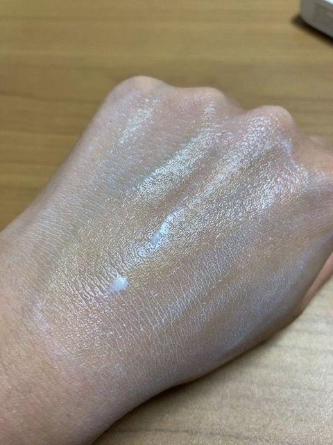ヒフミド UVプロテクトベース 耐水性