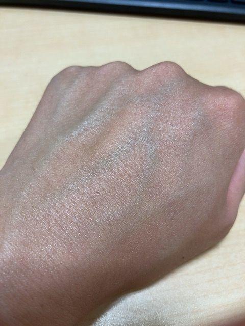 アスタリフト D-UVクリア アクアデイセラム 塗り終わり