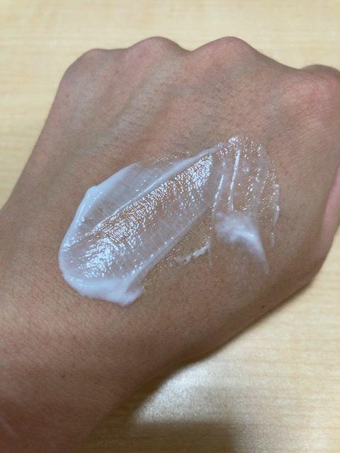 キュレル 潤湿保湿 フェイスクリーム 塗り伸ばし