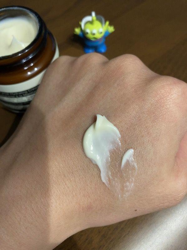 Aesop マンダリンクリーム 使用感
