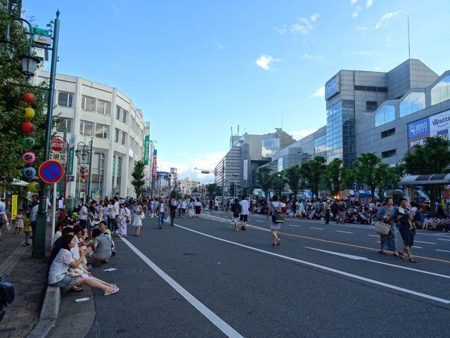 川越まつり2018本川越駅前