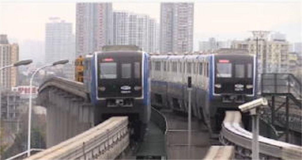 重慶モノレール3号線