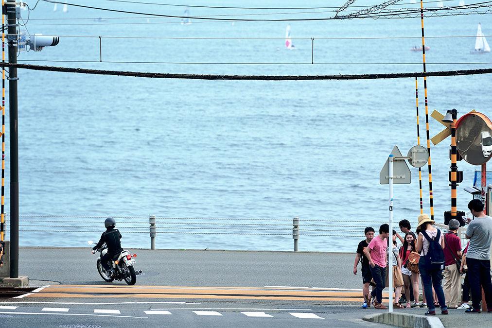 湘南エリアを走る。