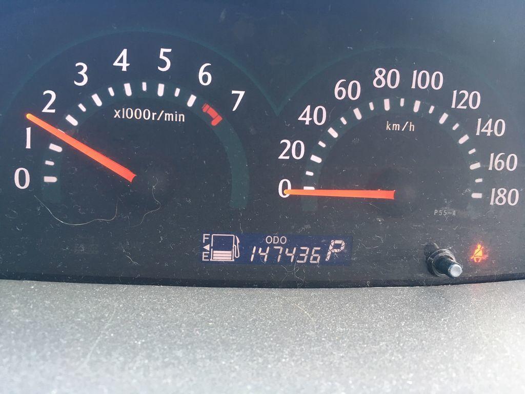 総走行距離15万キロ近くまできたシエンタ
