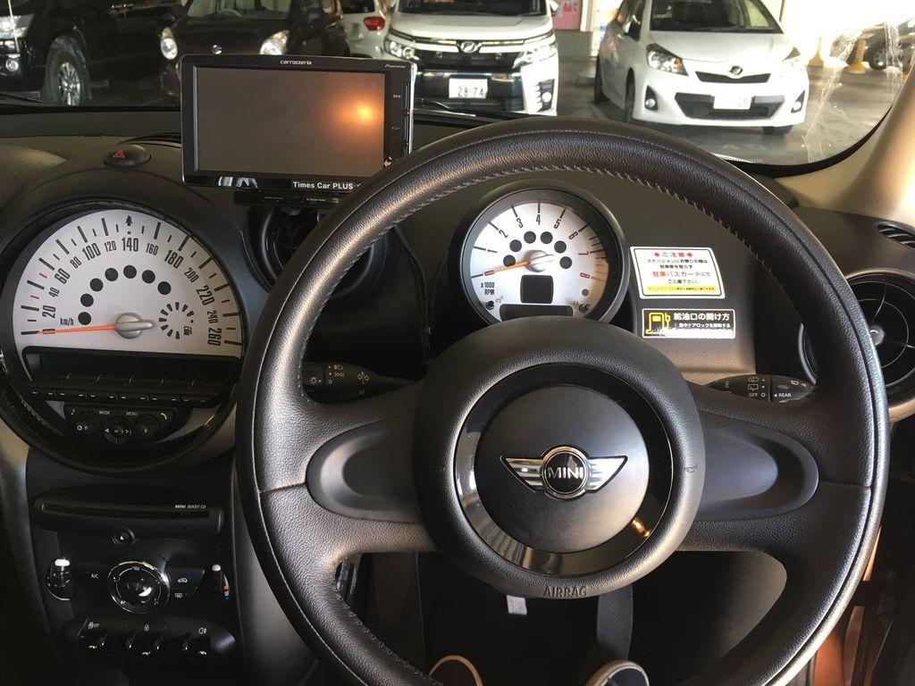 BMWミニ内装