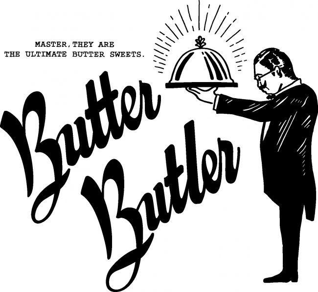 バターバトラーのブランドロゴ