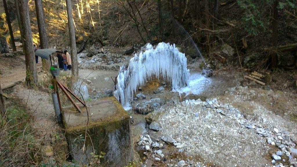 払沢の滝への道のり