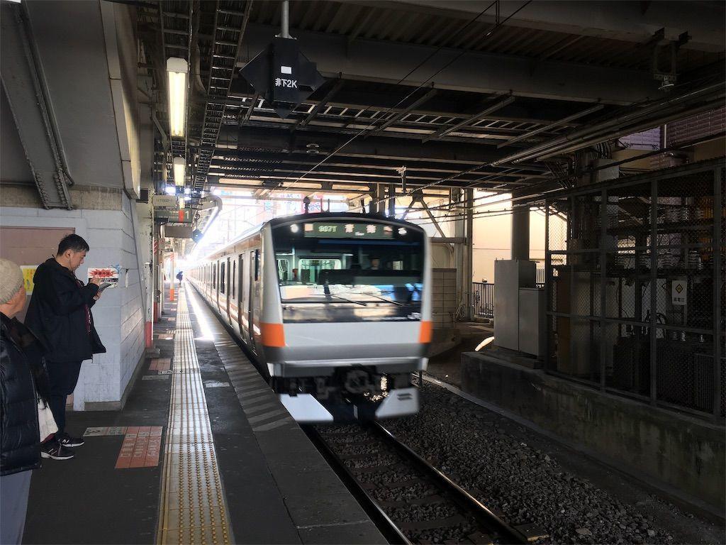 JR青梅線「福生駅」