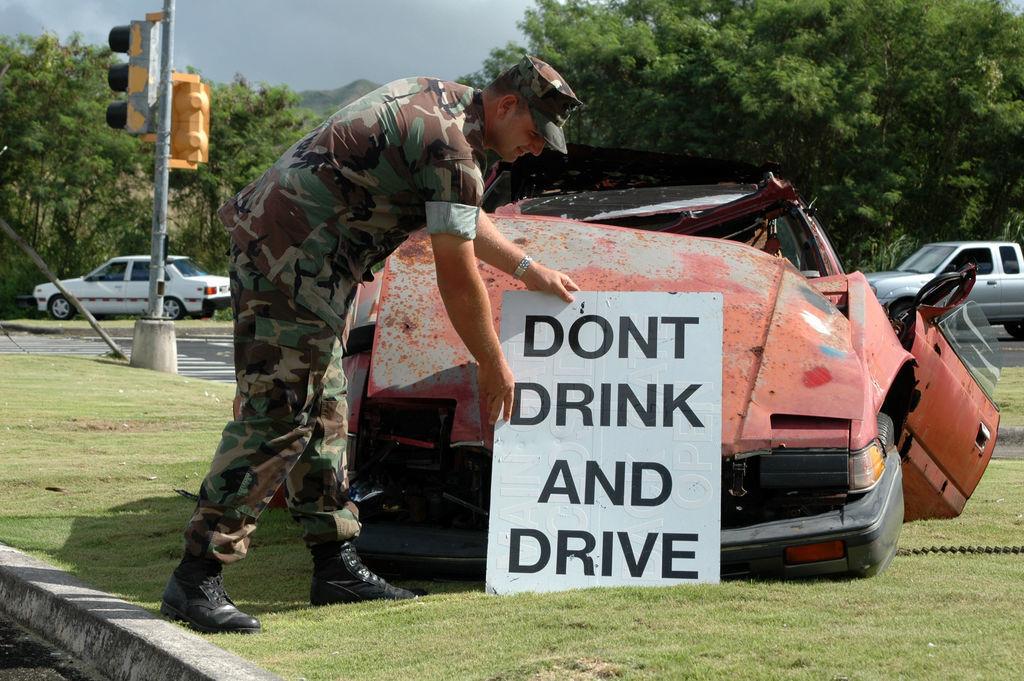 飲酒運転は重大事故の始まり