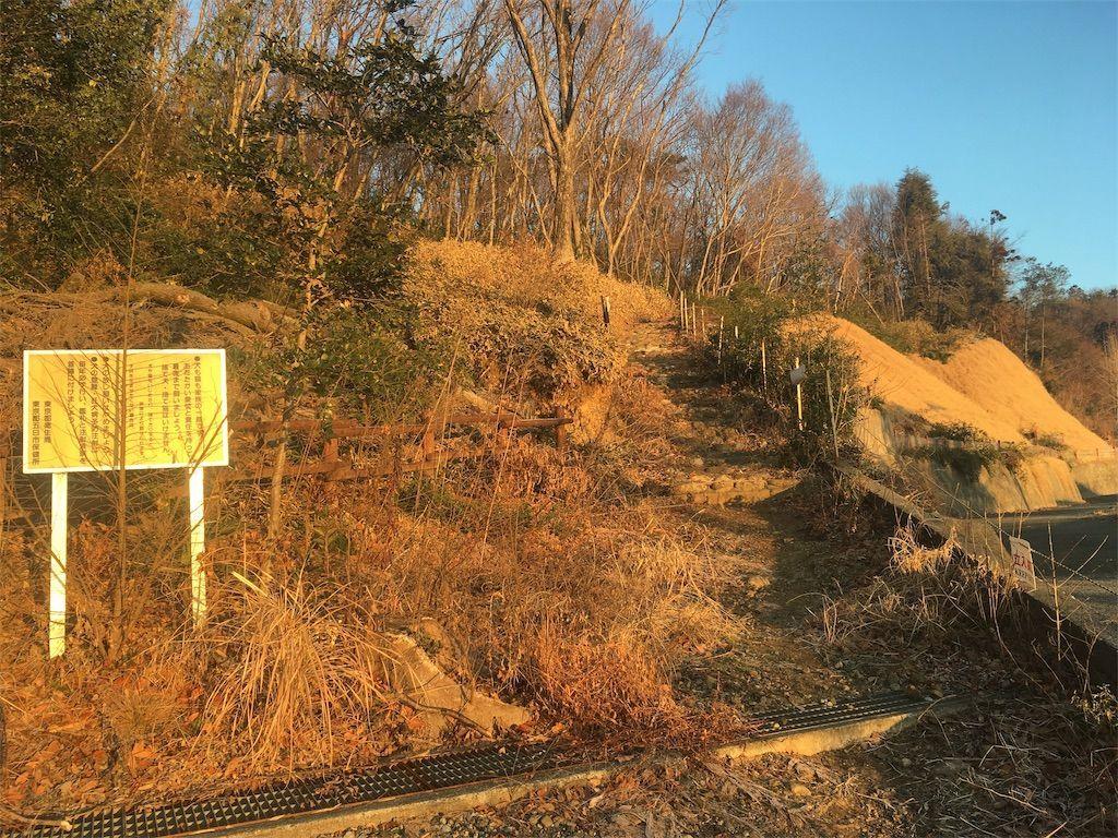 大澄山(だいちょうざん)の登山道の様子