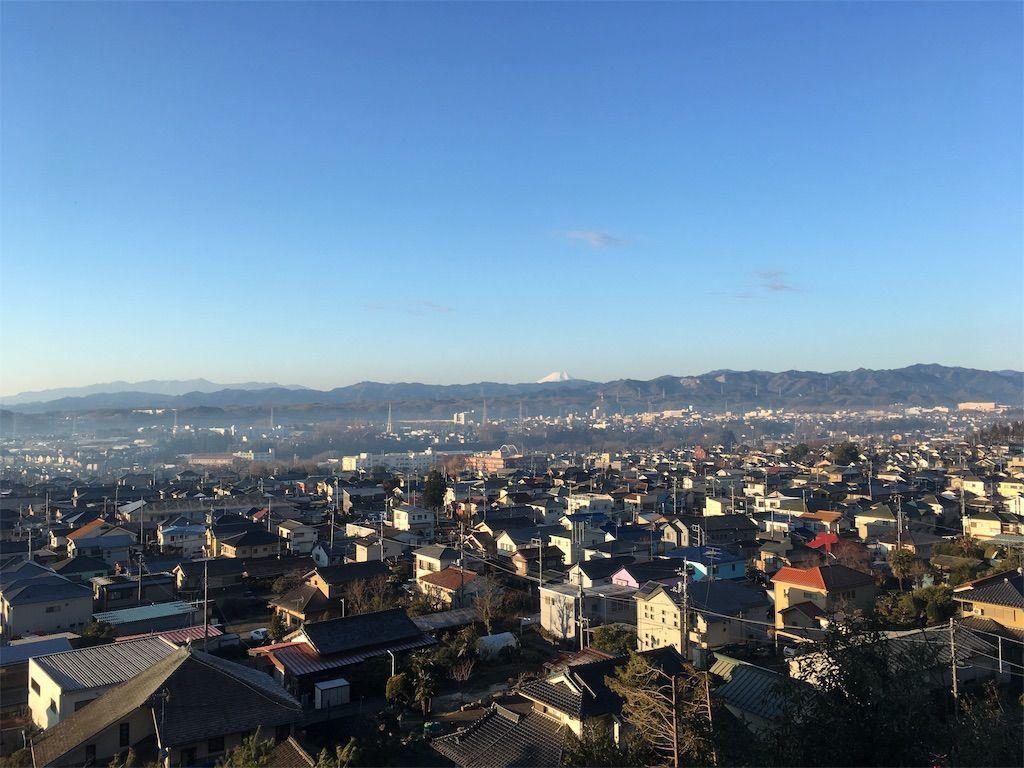 大澄山(だいちょうざん)にある草花神社からの景色