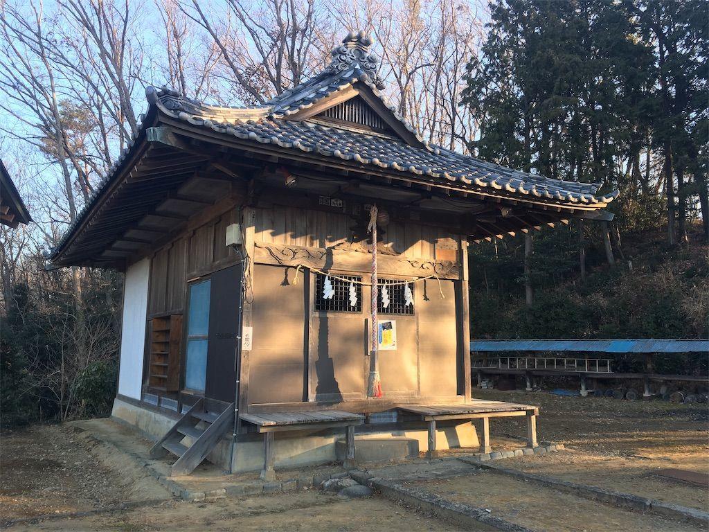 大澄山(だいちょうざん)にある草花神社